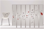 Extra Charge for Privacy Screen Nature Design - Falling Leaf Design