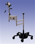 Leisegang OptiK 1 Colposcope w/ Roll Stand with Swing Arm