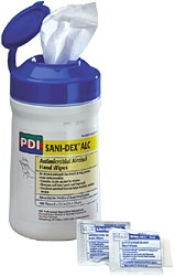 Sani-Dex ALC Handwipes,Canister- 12/135/Cs