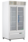 33 cubic foot ABS Standard Pharmacy/Vaccine Glass Door Refrigerator - Hydrocarbon