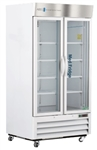 36 cubic foot ABS Standard Pharmacy/Vaccine Glass Door Refrigerator - Hydrocarbon