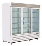72 Cubic Foot ABS Standard Pharmacy/Vaccine Glass Door Refrigerator - Hydrocarbon (Pharmacy Grade)