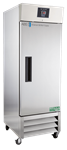 23 cu ft Solid Door Stainless Steel Pharmacy Freezer Auto Defrost