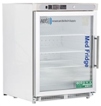 4.6 Cubic Foot ABS Premier Pharmacy/Vaccine Built-In Undercounter Refrigerator - Glass Door ADA LH