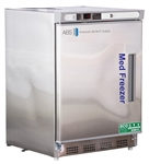 4.2 Cu Ft ABS Premier Pharmacy/Vaccine Built-In Undercounter Stainless Steel Freezer, Left Handed - Hydrocarbon (Pharmacy Grade)
