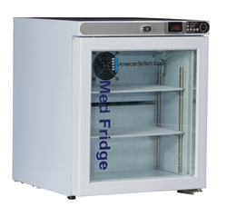 1 Cu Ft ABS Premier Pharmacy/Vaccine Freestanding Countertop Refrigerator