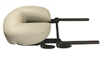 Oakworks QuickLock Face Rest Base with AeroCel Crescent Cushion