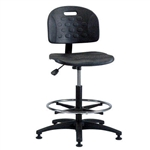 Brewer PS-3 Polyurethane Task Chair w/ Adjustable Footring