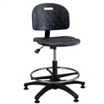 Brewer PS-2 Polyurethane Task Chair w/ Adjustable Footring (Seat Tilt)