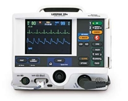 Physio Lifepak 20 - 3-lead, Biphasic, Pacing & AED (Refurbished)