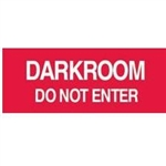 Techno-Aide Veterinary Sign: Darkroom (English)