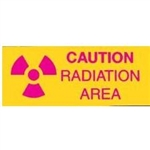 Techno-Aide Sign: Radiation Area