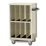 Techno-Aide Tall Veterinary Cassette Cart