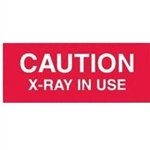 Techno-Aide Veterinary Caution X-Ray in Use Sign