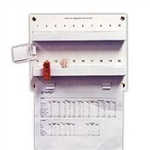 Techno-Aide Veterinary 10 Badge Board Holder