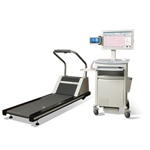 Welch Allyn/Mortara/Burdick Q-Stress Cardiac Stress Testing System w/ TM55 Treadmill