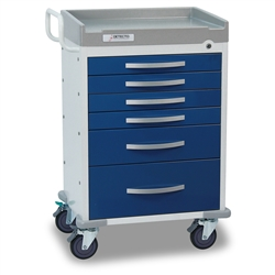 Detecto Rescue Medical Carts (6 Drawers)