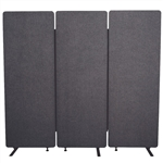 Luxor RECLAIM Acoustic Room Dividers - 3 Pack