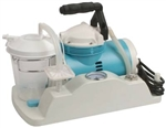 Molded Plastic Base Portable Aspirator with 800cc Disposable Canister, Tubing & Filter