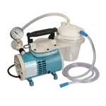 Portable Aspirator with 4 Legs and No Base (800cc) Disposable Canister, Tubing & Filter