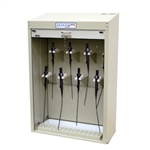 Scope Storage Cabinet w/ Tambour Locking Door (8 Scope Storage)
