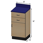 Pivotal Health Stor-Edge Medical Base Cabinet with 2 Drawers