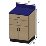 Pivotal Health Stor-Edge Medical Base Cabinet - 2 Doors and 2 Drawers