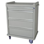 Harloff Standard Line 550 Punch Card Medication Cart