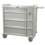 Harloff SL600PC Punch Card Medication Cart
