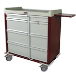 Harloff SL602PC Punch Card Medication Cart