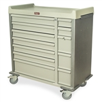 Harloff Multi-Dose Bin Medication Cart