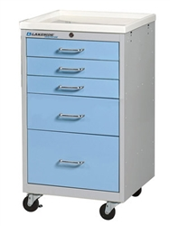 5-Drawer Mini Cart, Key Lock
