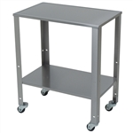 Detecto Rolling Stainless Steel Baby Scale Cart