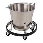 Stainless Steel Kick Bucket & Frame