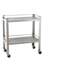 "UMF SS8090 Stainless Steel Utility Table - 33"" W x 34"" H x 18"" D (Knocked Down)"