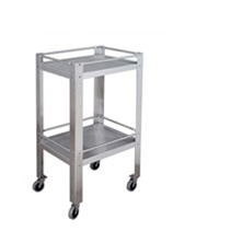 "UMF SS8096 Stainless Steel Utility Table - 33"" W x 34"" H x 18"" D (Knocked Down)"