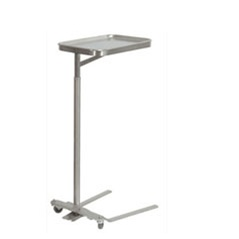 UMF SS8311 Stainless Steel Mayo Stand, 16x21, Foot Pedal