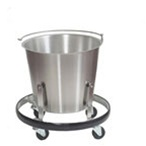 UMF SS8350 Stainless Steel Stands, Kick Bucket, 13 qt.
