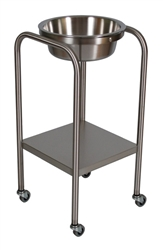 UMF SS8365 Stainless Steel Single Basin Stand with Shelf