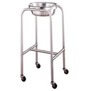 UMF SS8366 Stainless Steel Single Basin Stand with H-brace