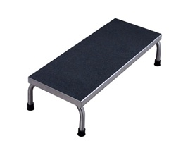 UMF 8372 Single Step Stainless Steel Foot Stool