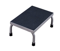 UMF 8374 Single Step Stainless Steel Foot Stool