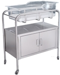 "UMF Stainless Steel Bassinet, 2-Door, 32""W x 35.25""H x 17""D"