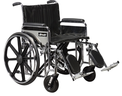 Sentra Extra Heavy Duty Wheelchair - Dual Cross