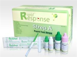 Rapid Response Strep A Test Kit 25/box