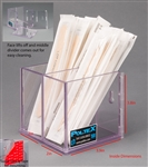 Poltex Swab/Tongue Depressor Holder XL (Extra Large) Divided VHB (Very High Bond) Tape
