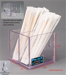 Poltex Swab/Tongue Depressor Holder XL (Extra Large) Divided (Wall Mount)