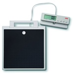 Seca Flat Scale with Cable Remote Display for Mobile Use