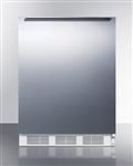 Built-in undercounter refrigerator-freezer ADA with lock