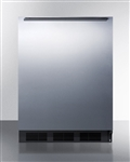 AccuCold ADA Undercounter Refrigerator/Freezer - Stainless Steel Wrapped Door